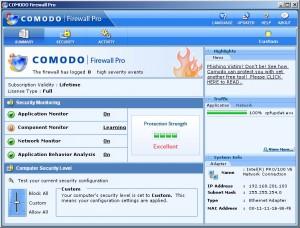 Antivirus Gratis - Comodo Firewall + Antivirus