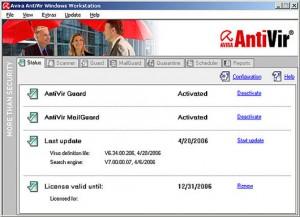 Antivirus Gratis - Avira Antivirus Personal