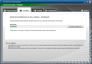 Antivirus Gratis - Microsoft Security Essentials