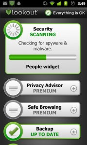 Aplicaciones Android Gratis - Lookout