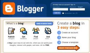 Crear Páginas Web Gratis - Blogger