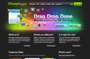 Crear Páginas Web Gratis - SnapPages