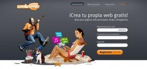 Crear Páginas Web Gratis - Webnode