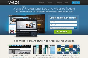 Crear Páginas Web Gratis - Webs