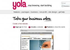 Crear Páginas Web Gratis - Yola