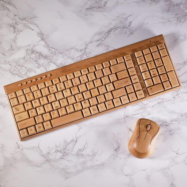 regalos-tecnologicos-teclado-bambu