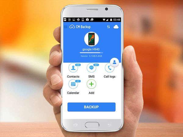 Copia de seguridad Smartphone