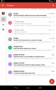 Gmail para smartphone Android